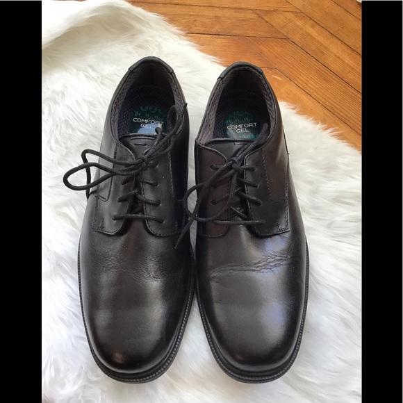 Nunn Bush men's black loafers 8.5 Comfort gel.